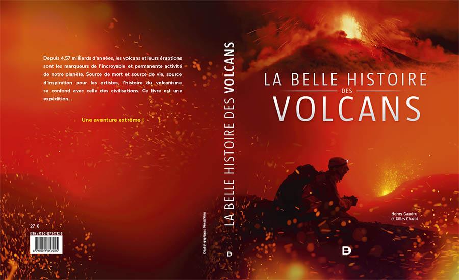 La belle histoire des volcans édition De booek