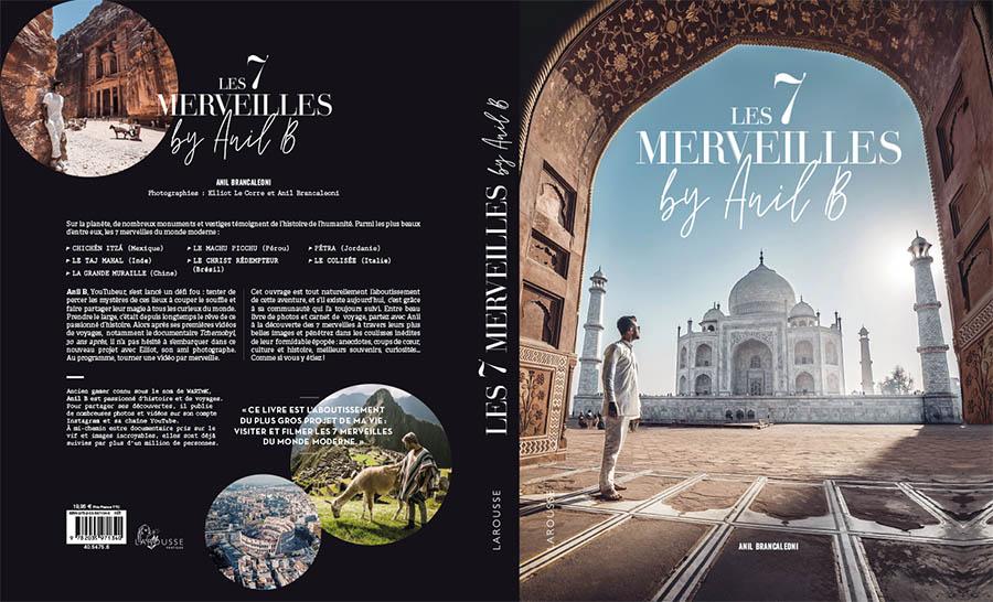 Les 7 merveilles by Anil B édition Larousse