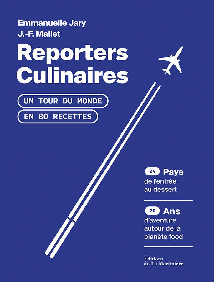 Reporters culinaires édition La martinière